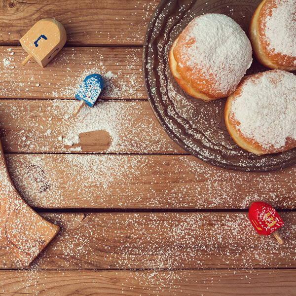 High Quality Organics Express Sufganiyot doughnuts