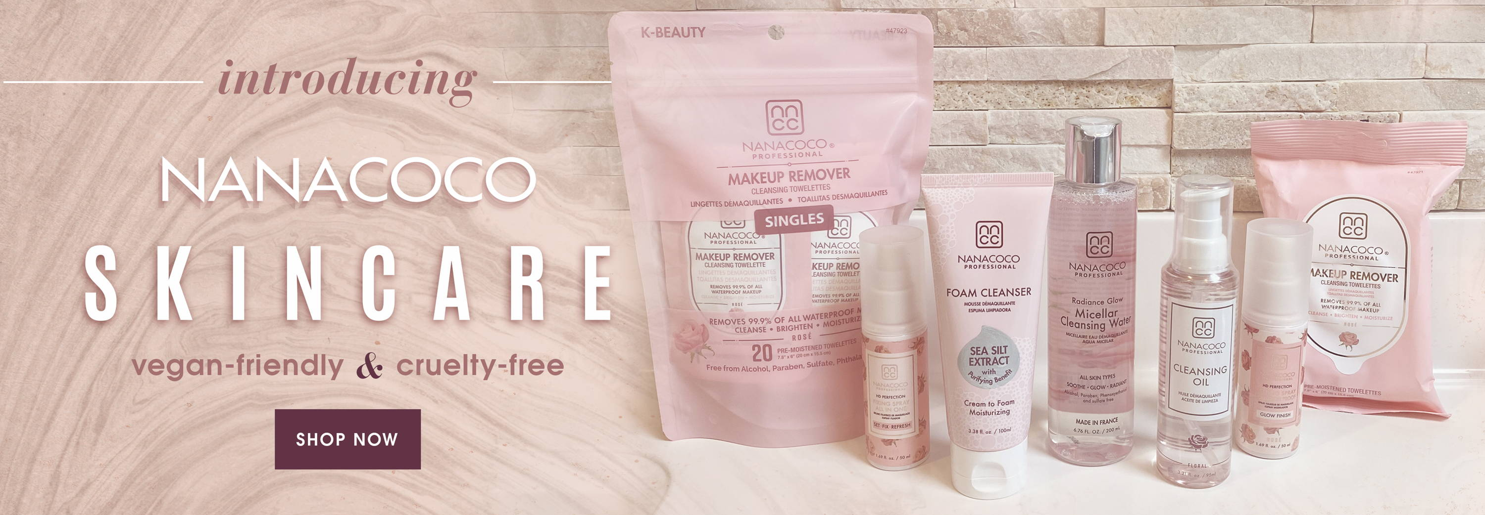 Nanacoco Professional New Arrival- Vegan and Cruelty Free Skincare