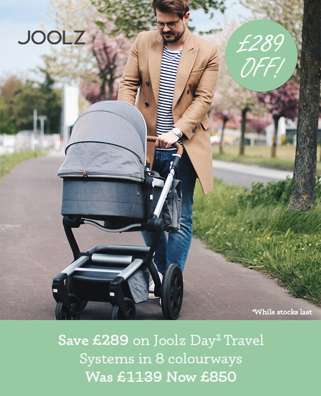 £289 off Joolz Day2 Travel System