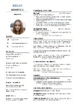 Pharmacist CV Template
