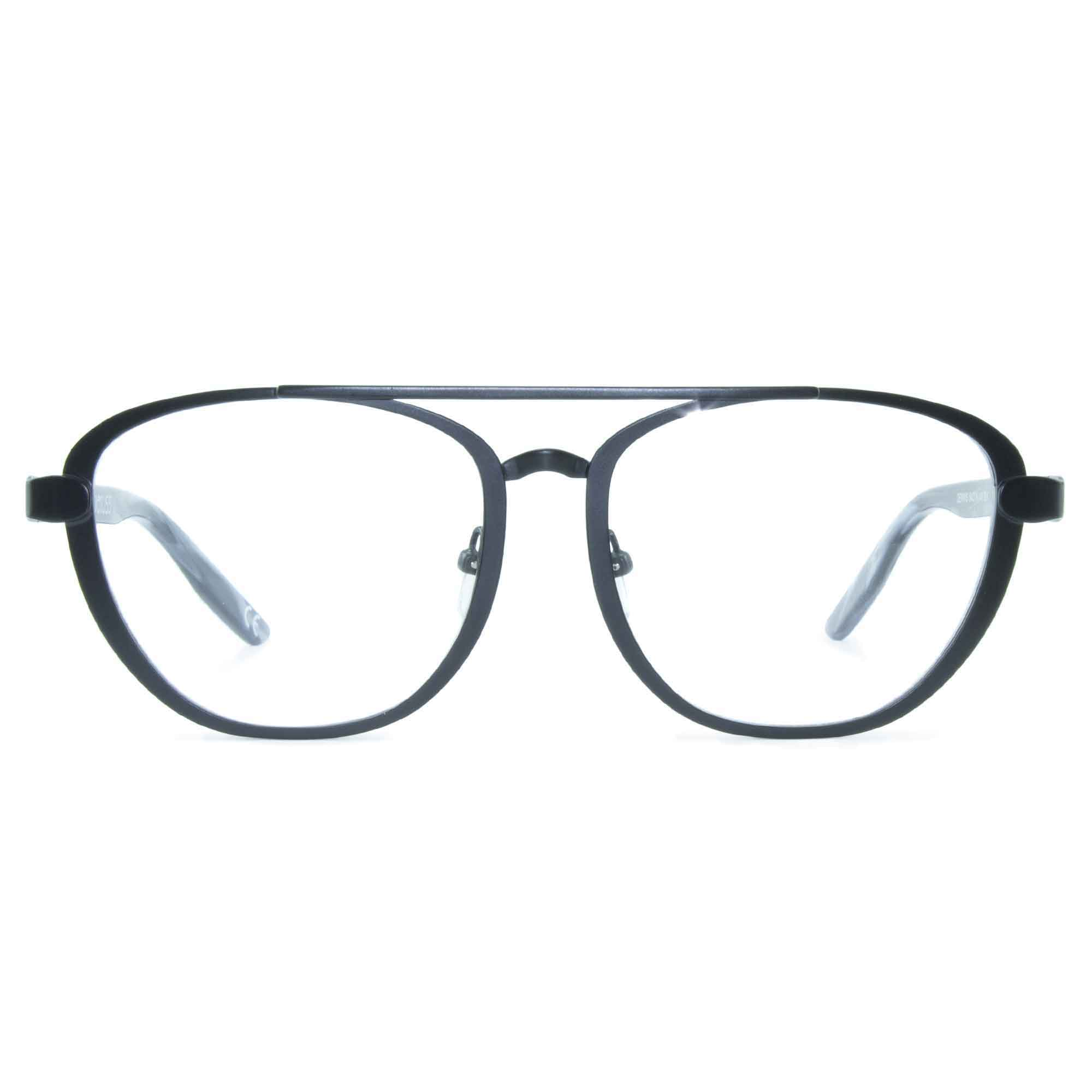 Joiuss dennis black aviator glasses frame