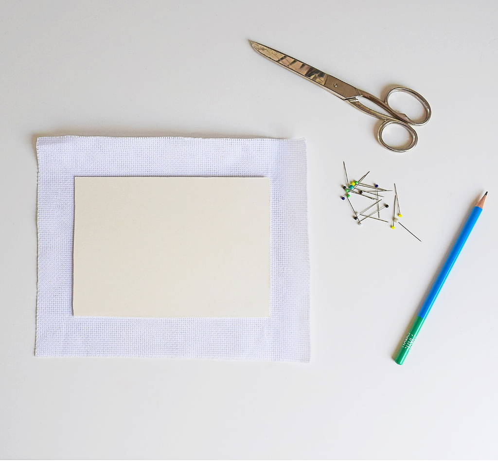 How to mount your embroidery in a picture frame