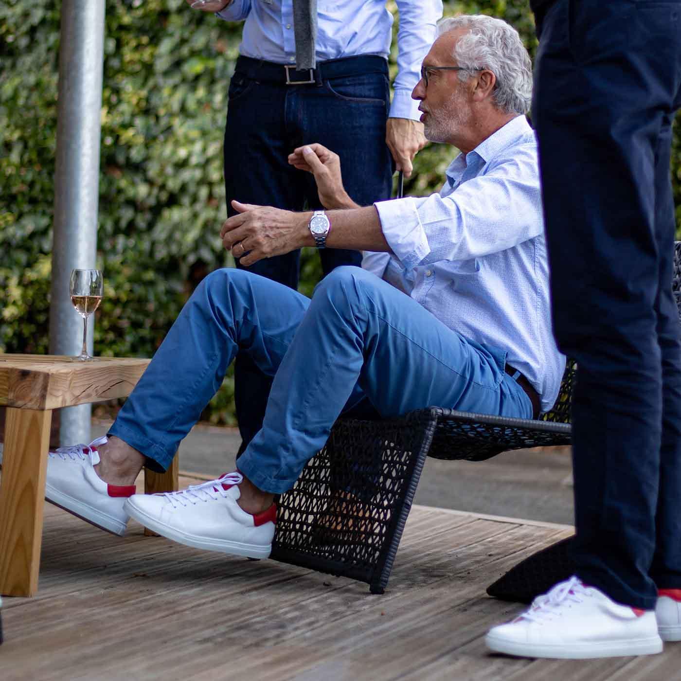 Sneakers haute-de-gamme pour homme hallux valgus
