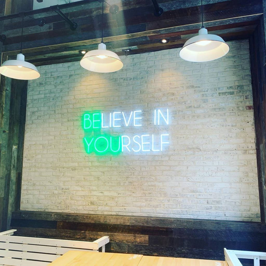 Brite Lite business neon believe in yourself
