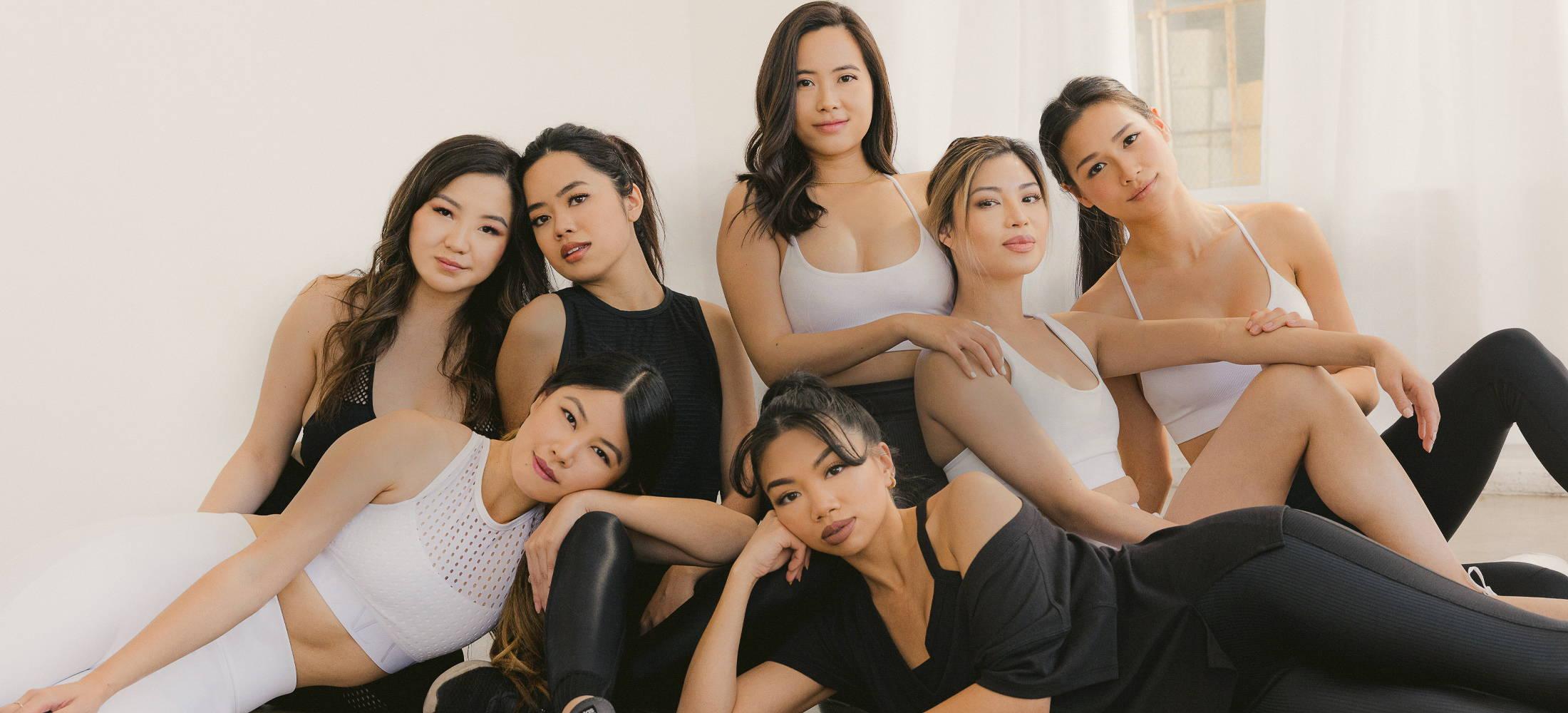 A group of six women.