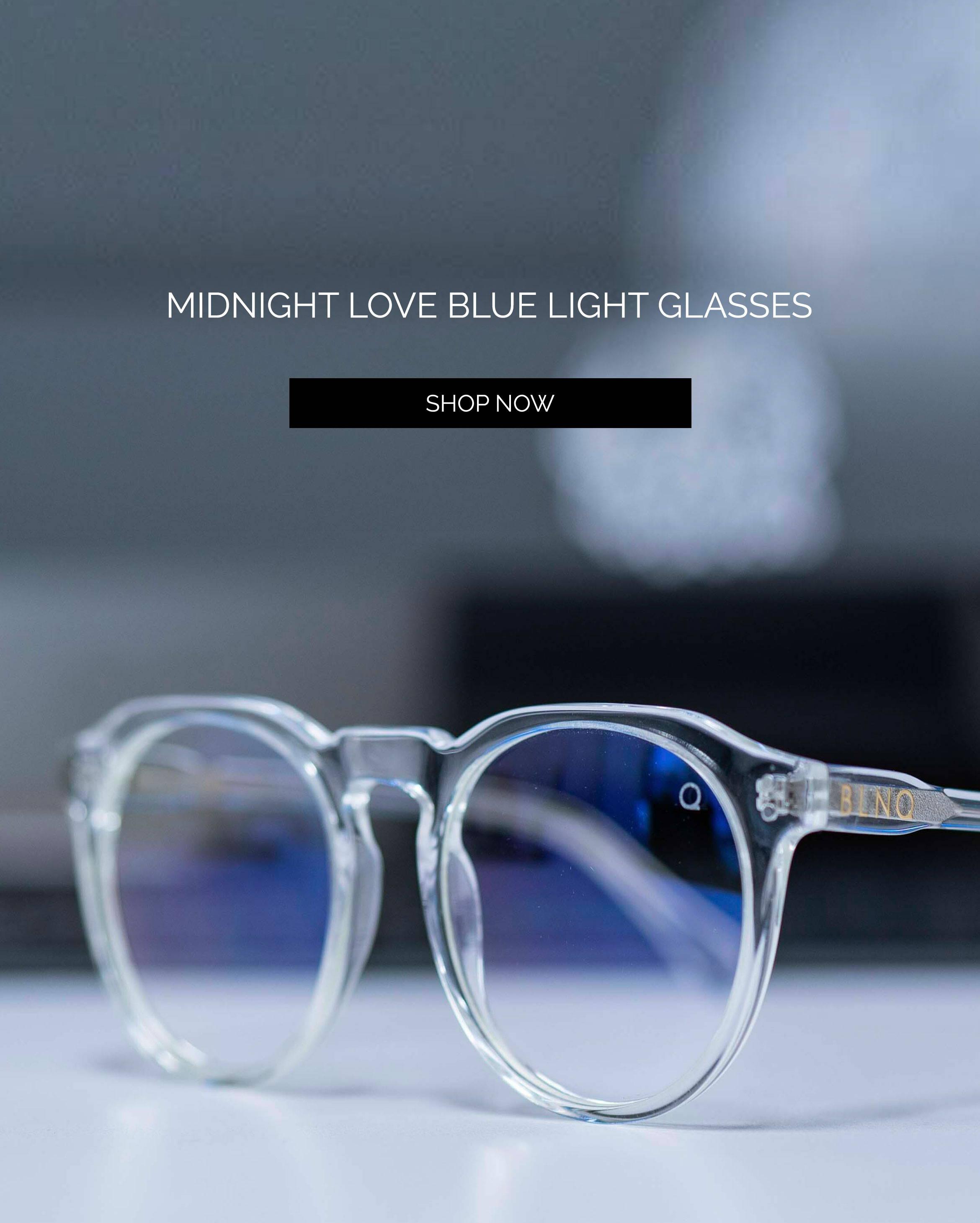Midnight Love Blue Light Glasses