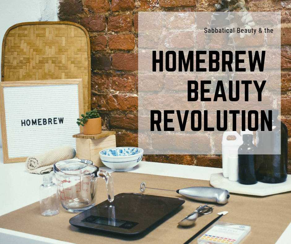 Homebrew Beauty Revolution: Cosmetic Chemistry in Your Kitchen