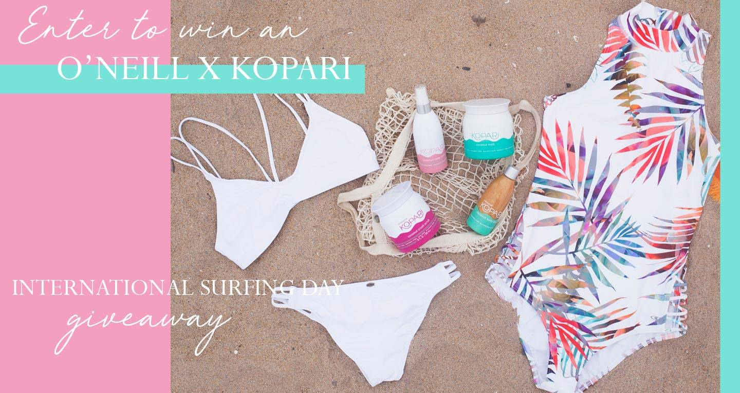 Enter to Win an O'Neill X Kopari Gift Pack