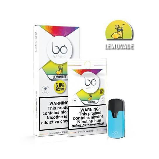 Lemonade Bo Vape Pods by Bo Vaping
