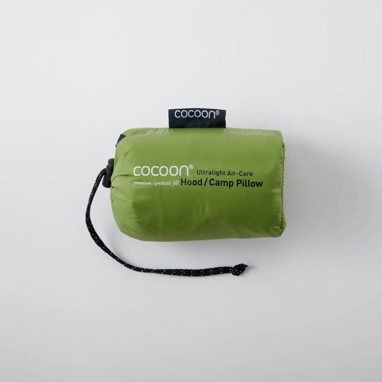 COCOON(コクーン)/エアーコアフッドピローウルトラライト/ライトグリーン