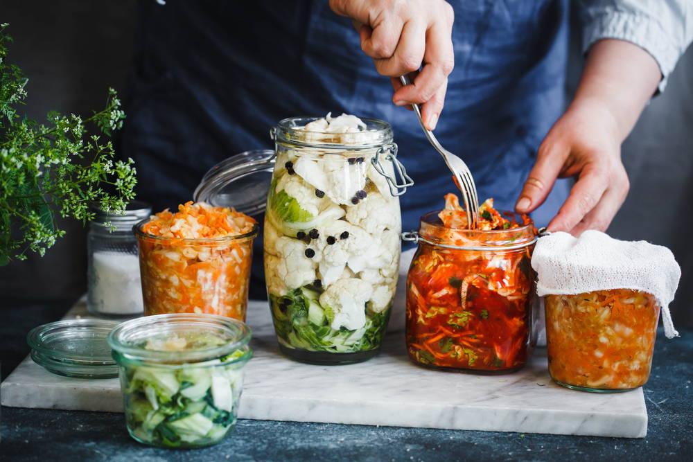 fermented foods prebiotics and probiotics