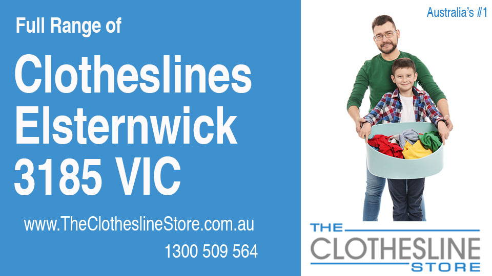 New Clotheslines in Elsternwick Victoria 3185
