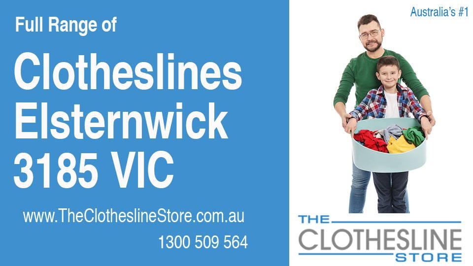 New Clotheslines in Elsternwick Victoria 3185