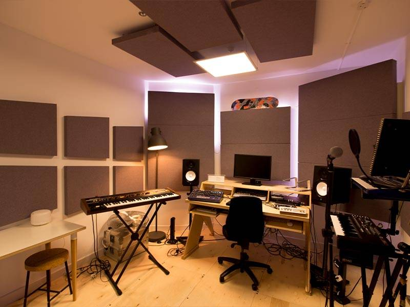 Click to see the Warp Records Acoustic Treatment Case Study