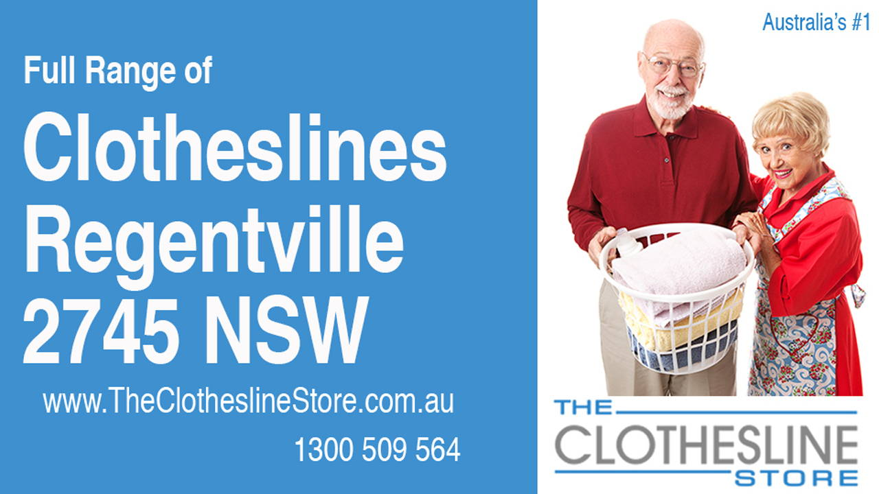 New Clotheslines in Regentville 2745 NSW