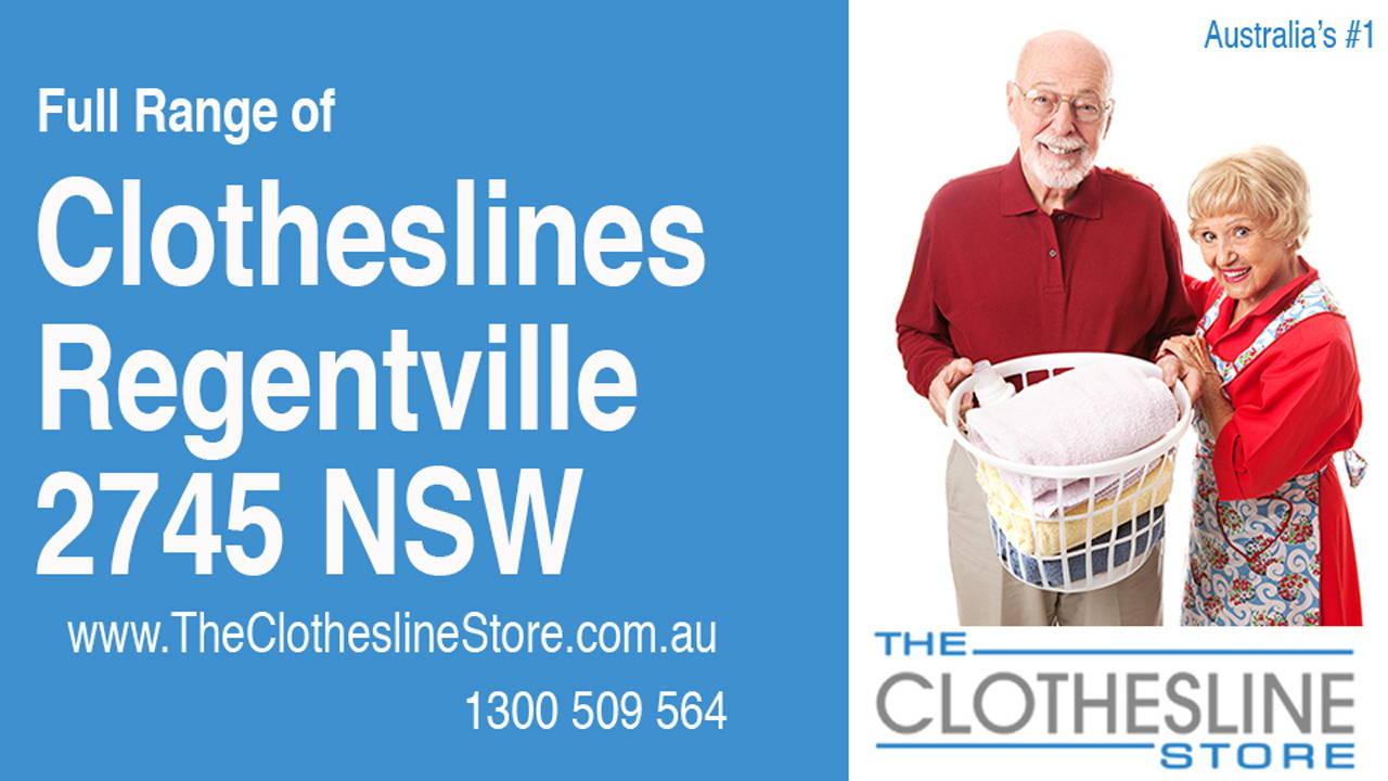 New Clotheslines in Regentville 2745 NSW