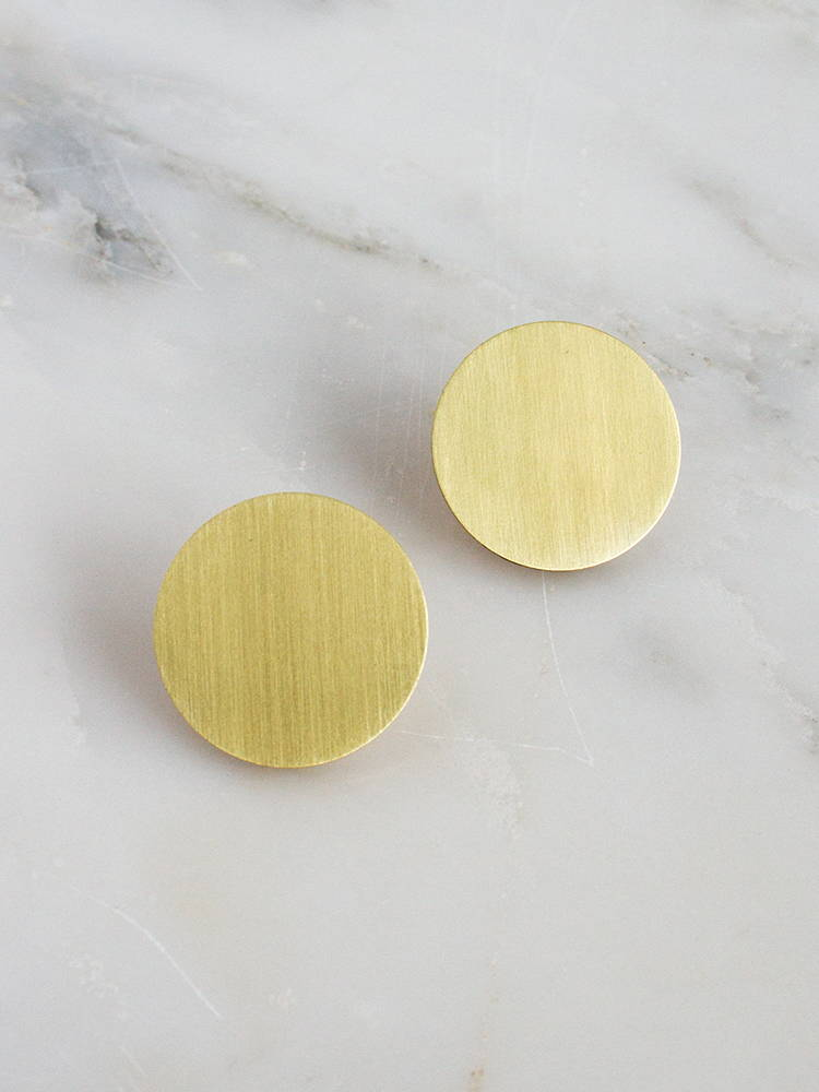 Eclipse Studs | Handmade in London by Wolf & Moon