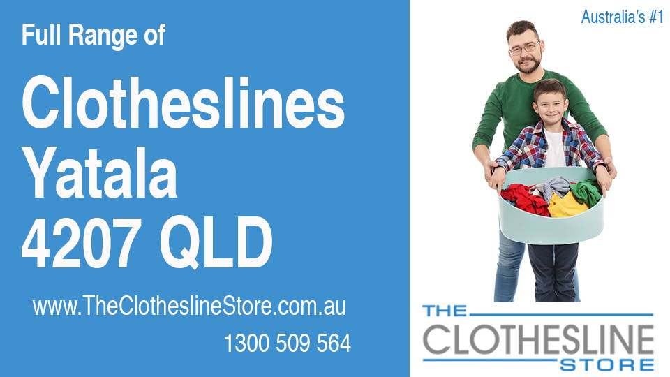 New Clotheslines in Yatala Queensland 4207