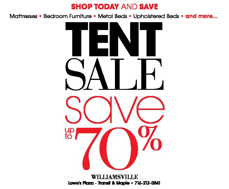 outlet store 53160 513dd Buffalo Tent Sale - City Mattress