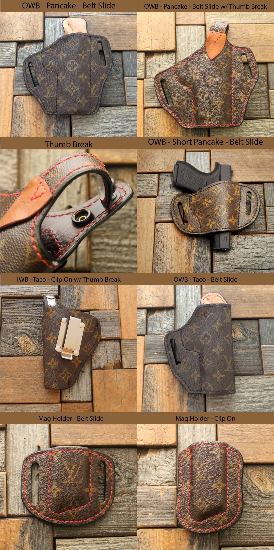 Custom Louis Vuitton holster