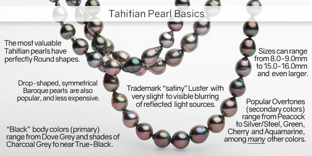 Tahitian Pearl Basics: What You Need to Know About Black Pearls