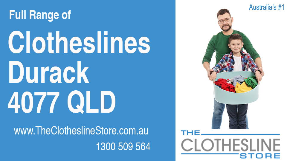New Clotheslines in Durack Queensland 4077