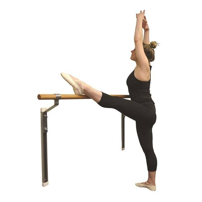 Adjustable Single Wall Mounted Ballet Barres