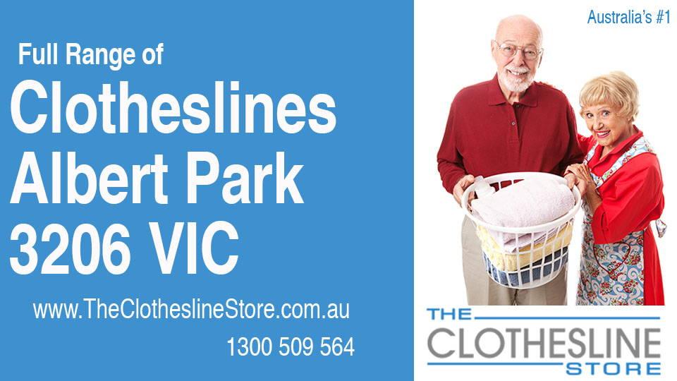 New Clotheslines in Albert Park Victoria 3206