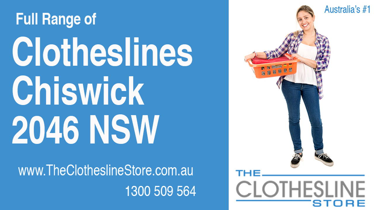 Clotheslines Chiswick 2046 NSW