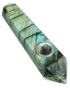 DopeBoo Labradorite Stone Pipe