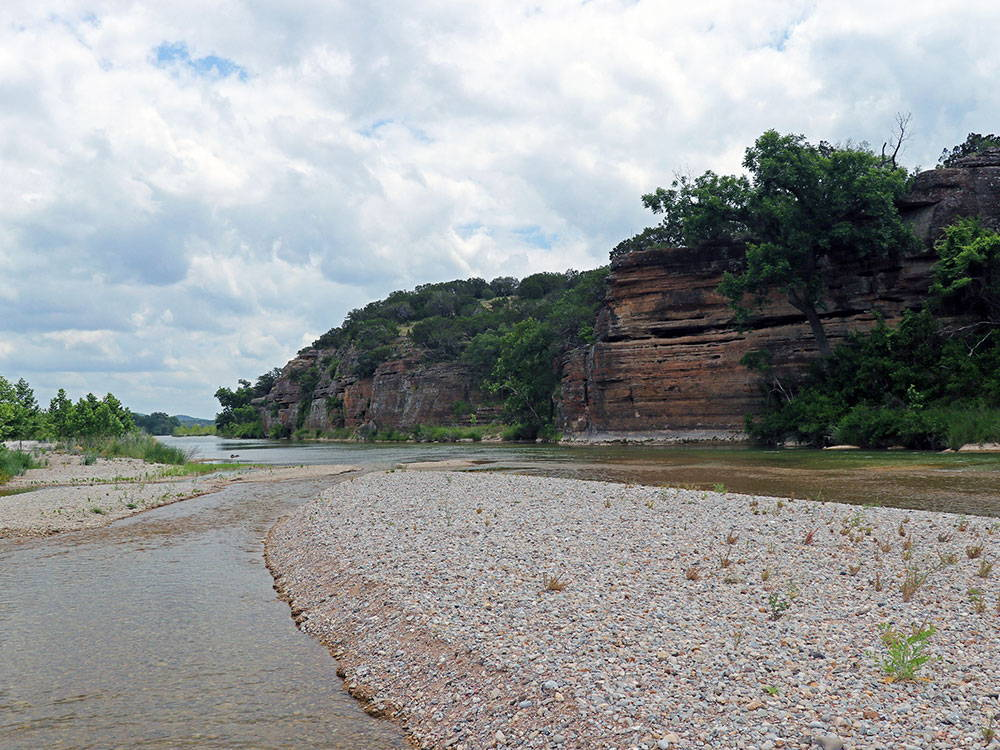 scenery on the llano river