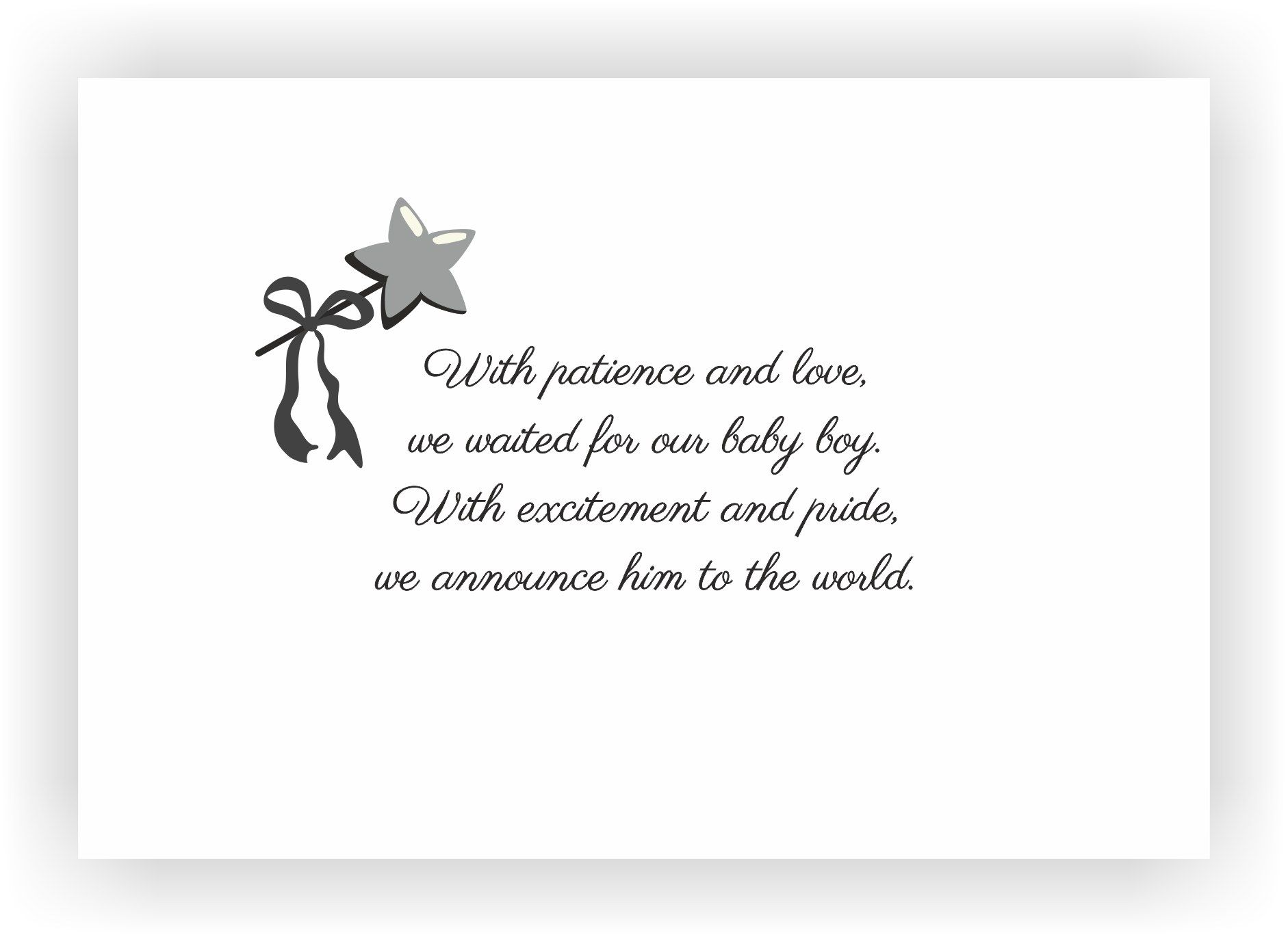 Newborn baby announcement message I Messages for the new born baby