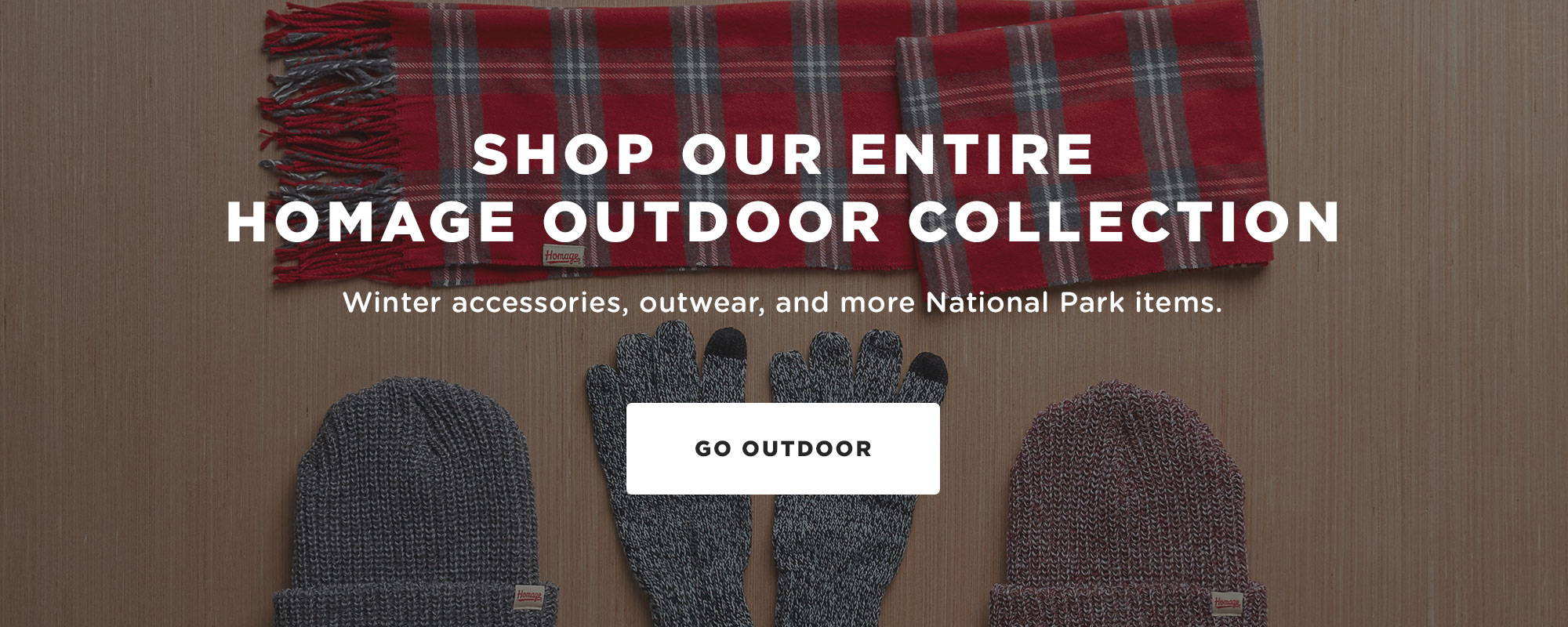 Shop our entire HOMAGE Outdoor Collection