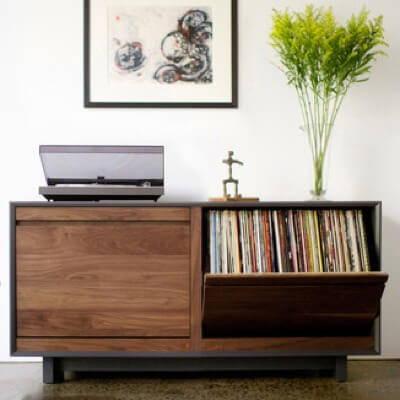 Home Audio Accessories - Vinyl Record Storage