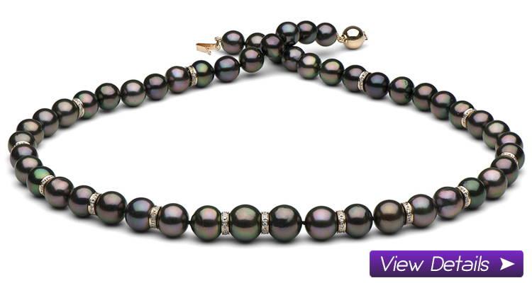 Tahitian Diamond Necklaces - Adding Rondelles