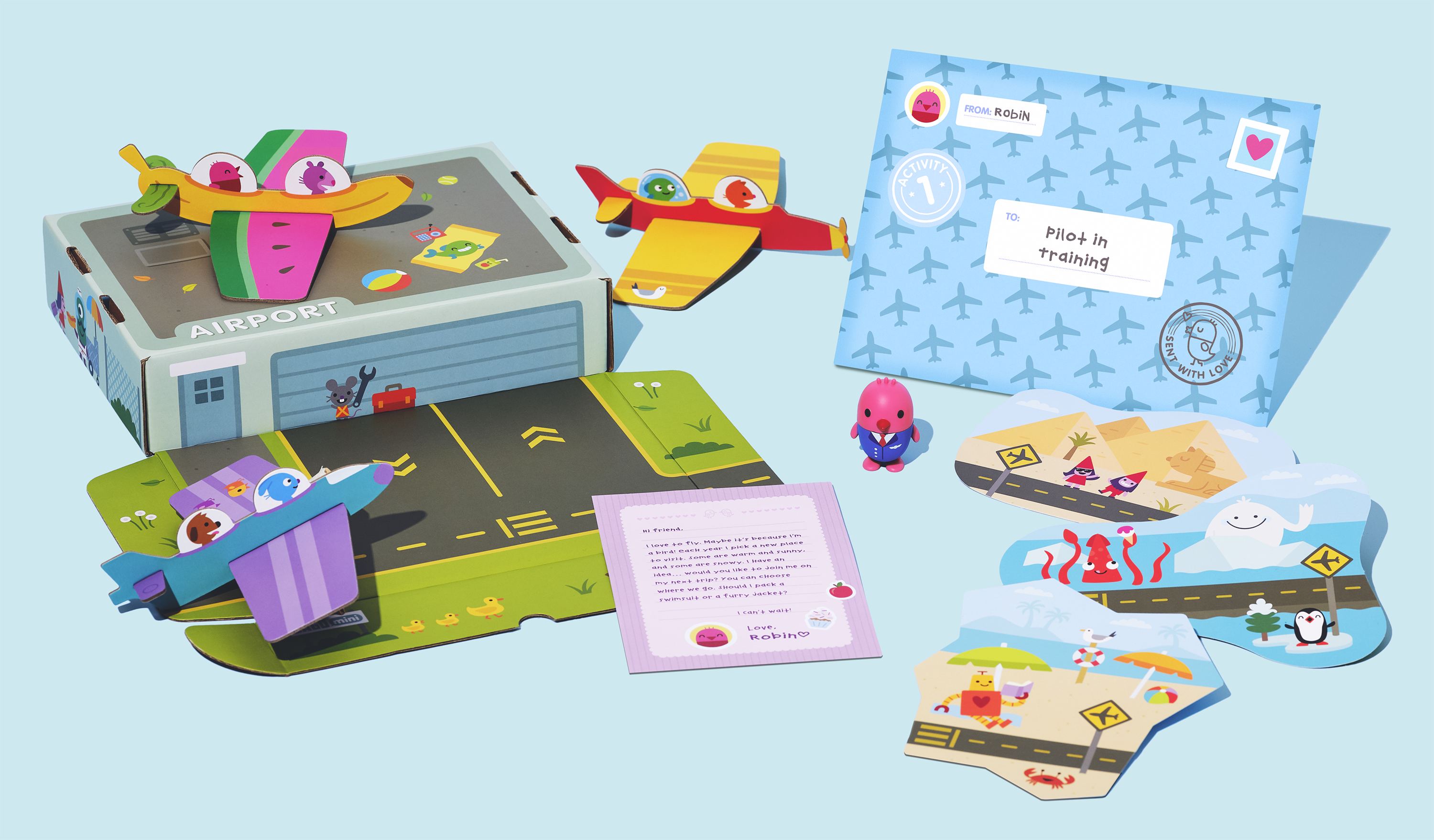 Planes Sago Mini Box