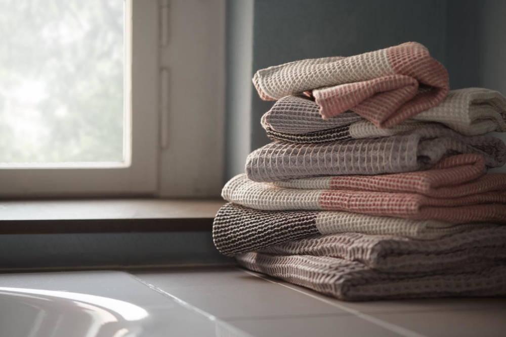 Badezimmer Handtücher Leinen 100% Leinen