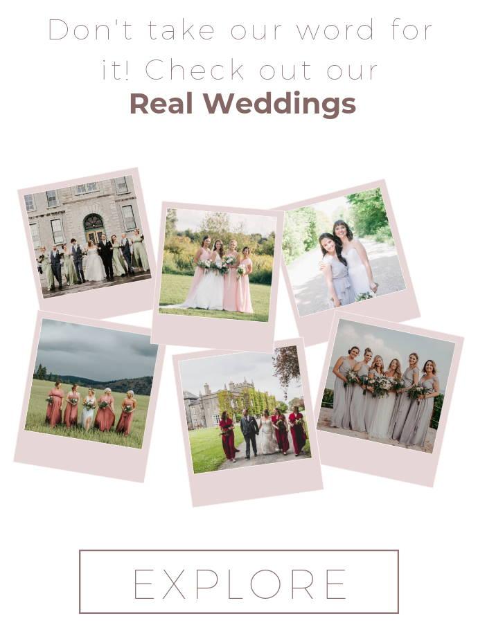 Bridal party real weddings