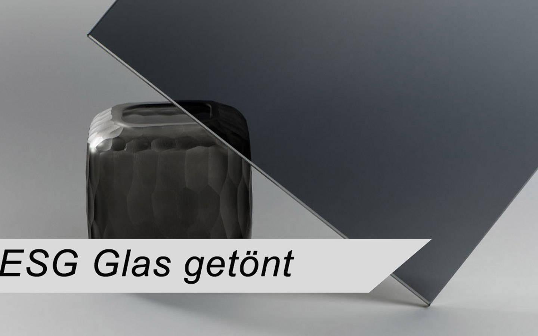ESG Glas nach Maß getönt