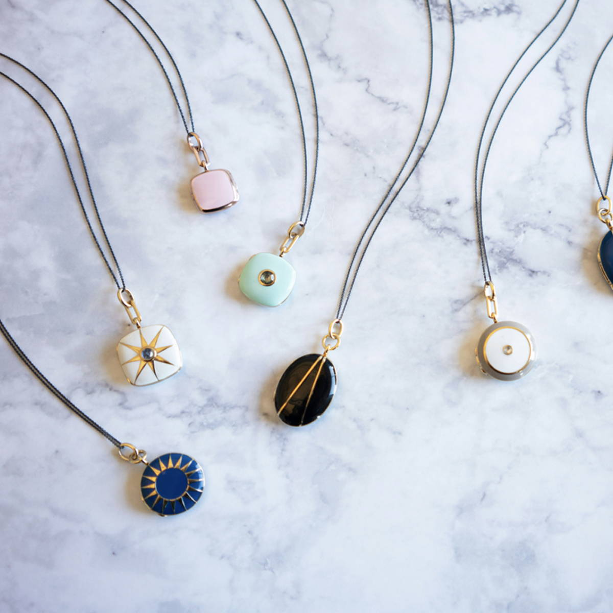 Colored lockets