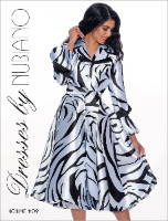 Elegance Fashions | Nubiano Dresses Fall 2021  Designer Trendy and Chic Styles