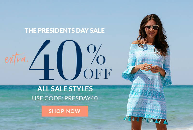 Presidents Day Sale: Extra 40% Off Sale