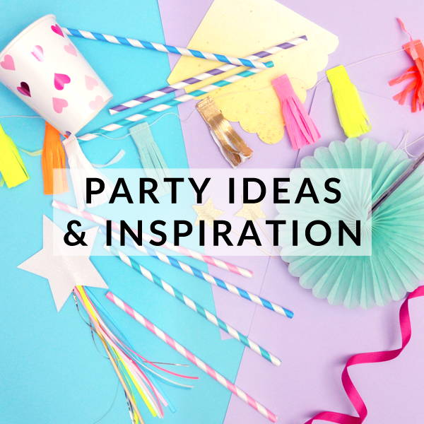 Stylish party ideas and modern inspiration to make your birthday party, wedding, baby shower or hen do an occasion to remember!