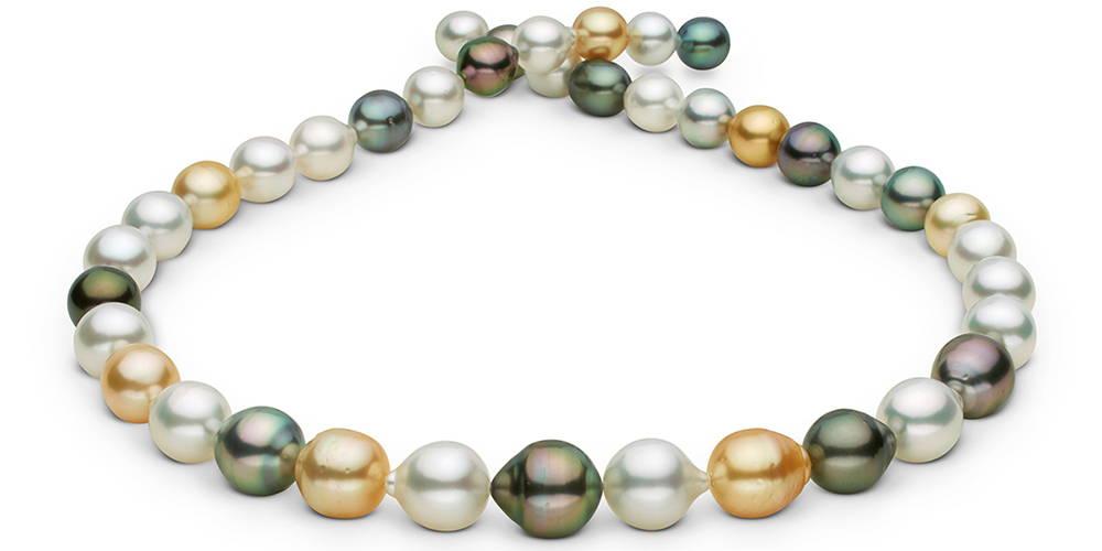 Pearl Colors: Multi-Color South Sea Pearls