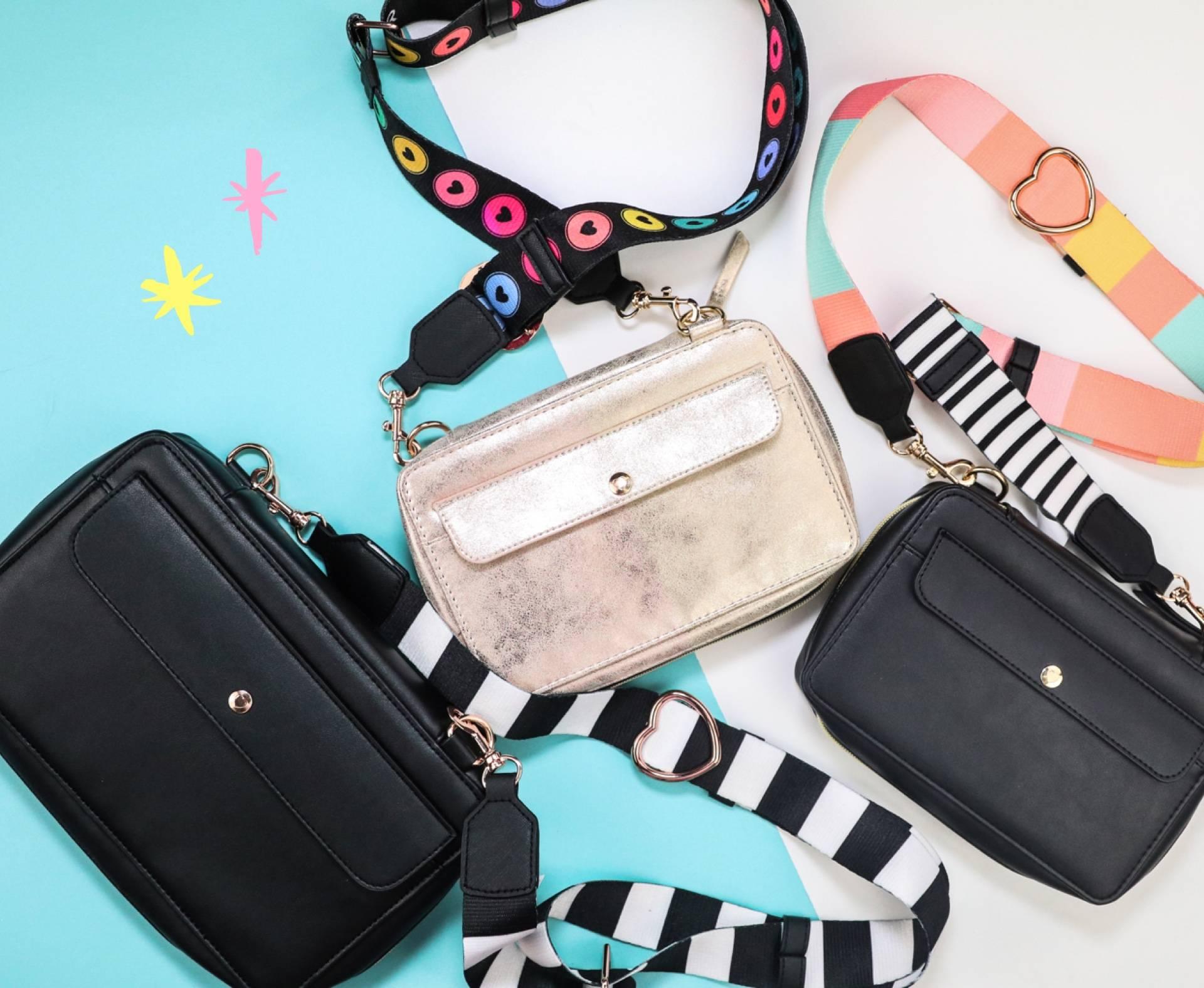 three happy planner purses