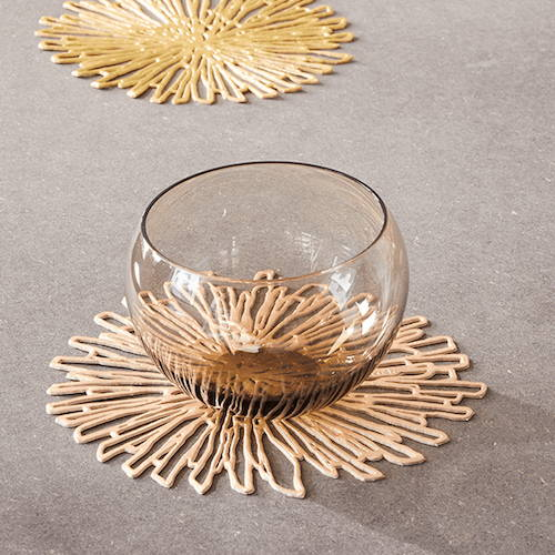 Chilewich Bloom Pressed Coaster (Set of 6)