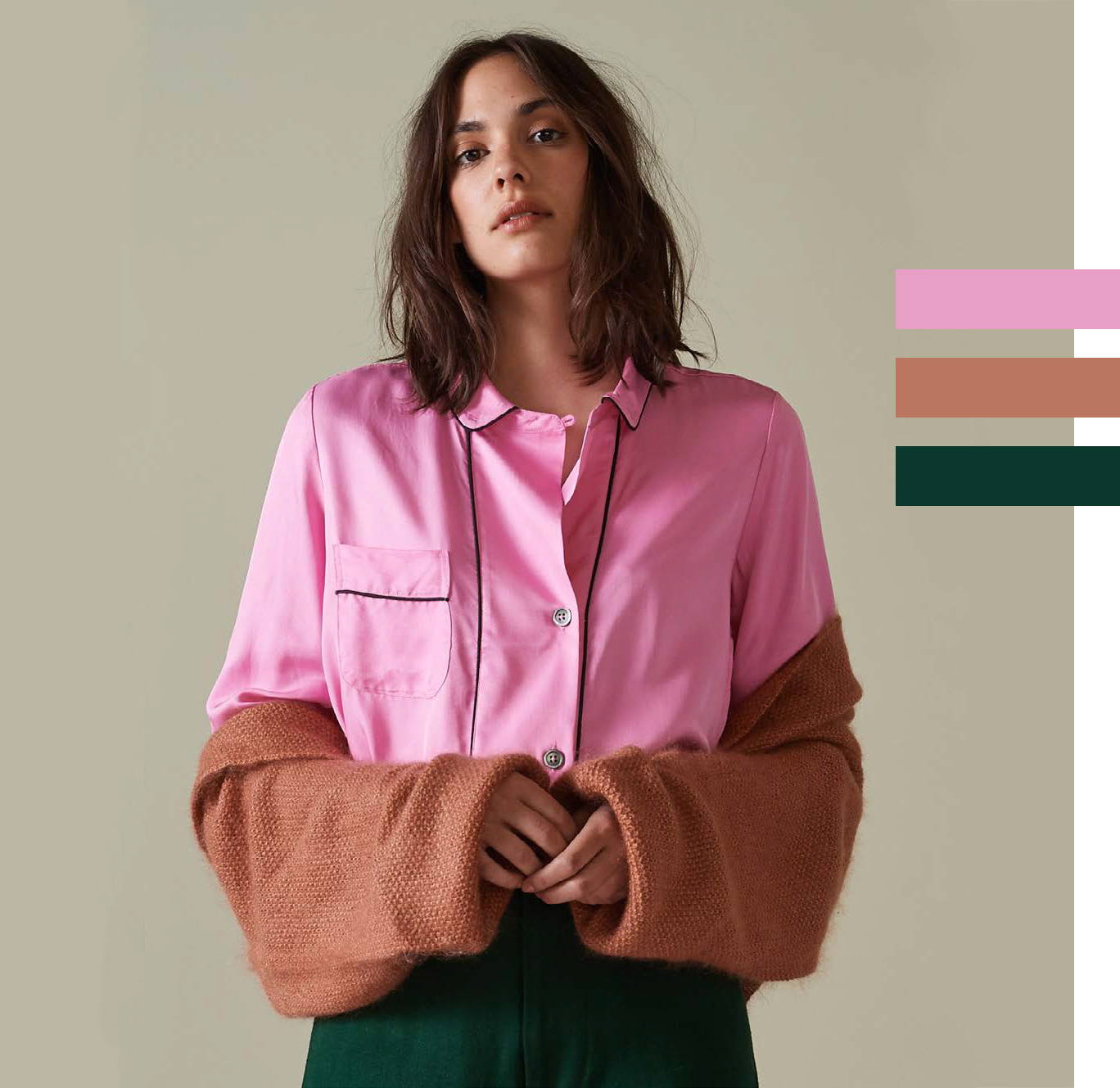 Bellerose Holdup Shirt in Brianna Cyclamen