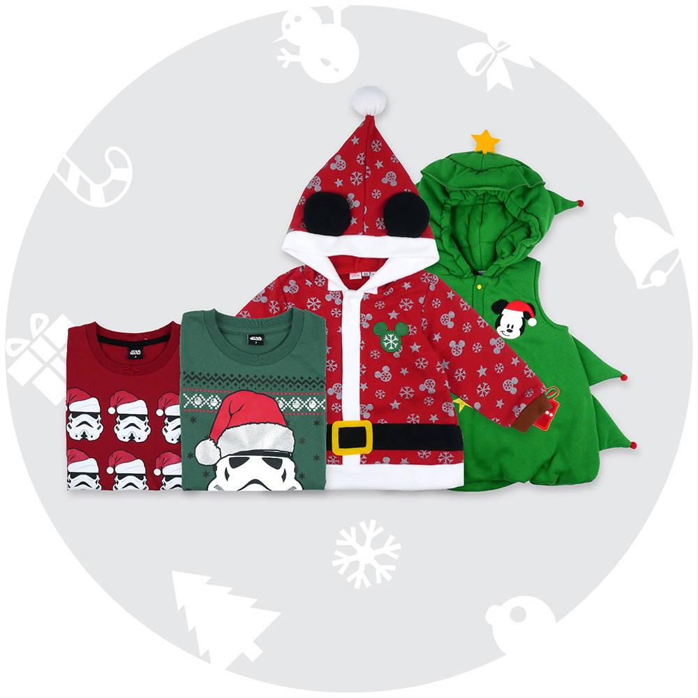 ชุดคอสตูมเด็กวันคริสต์มาส