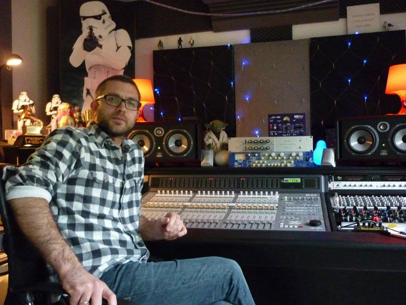 Adrian Bushby, British Recording Engineer and Producer