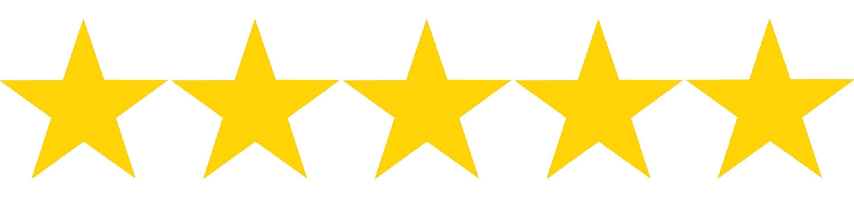 customer 5 star rating